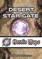 Heroic Maps - Desert Star Gate