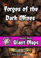 Heroic Maps - Giant Maps: Forges of the Dark Mines