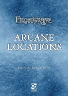 Frostgrave: Arcane Locations