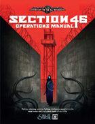 World War Cthulhu: Cold War - Section 46 Operations Manual