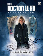 Doctor Who Roleplaying Game: The Black Archive