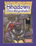 Warhammer Fantasy Roleplay First Edition - Shadows Over Bögenhafen The Enemy Within Part 1