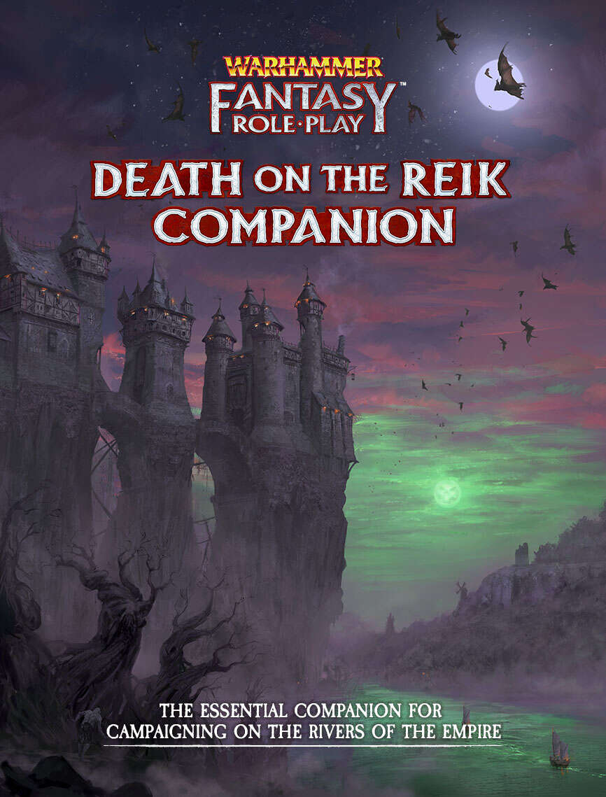 Warhammer Fantasy Roleplay Enemy Within Campaign – Volume 2: Death on the Reik Companion