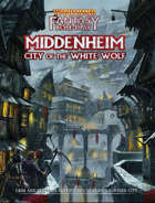 WFRP: Middenheim: City of the White Wolf