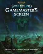 Warhammer Age of Sigmar: Soulbound Gamemaster's Screen