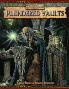 Warhammer Fantasy Roleplay 2nd Edition: Plundered Vaults
