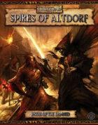 Warhammer Fantasy Roleplay 2nd Edition: Spires of Altdorf