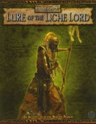 Warhammer Fantasy Roleplay 2nd Edition: Lure of the Liche Lord