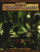 Warhammer Fantasy Roleplay 2nd Edition: Terror in Talabheim