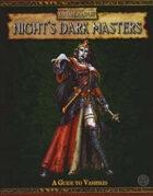 Warhammer Fantasy Roleplay 2nd Edition: Night's Dark Masters