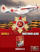 Wings of the Motherland Game Errata V1.0