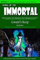Stairs of the Immortal: Gwain's Keep (Swords &Wizardry Edition)