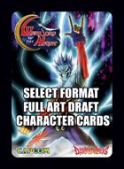Select Format Characters - Warriors of the Night (Darkstalkers)