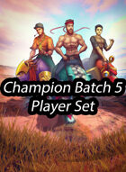 Champion Batch 5 Promos - Black Bear Diner