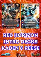Red Horizon Kaden & Reese Intro Deck Pack