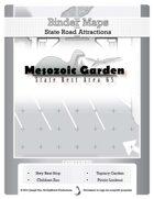 BinderMaps: Mesozoic Garden - a highway rest stop and roadside topiary attraction
