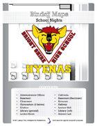 BinderMaps: School Nights - Bright Shire High School in Shades of Grey