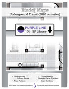 BinderMaps REMASTER: Purple Line - Underground Transit Station and Subway tunnels
