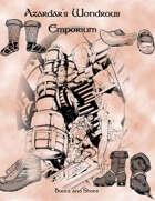Azardar's Wondrous Emporium 2:Boots and Shoes