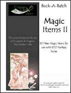 Buck-A-Batch: Magic Items II