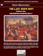 The Last Snipe Hunt- A Sci-Fi RPG Mini-Adventure