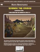 Robbing the Crusoe- A Sci-Fi RPG Mini-Adventure