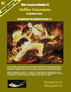 Helfire Mountain- A Swords & Wizardry Mini-Dungeon