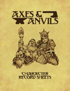 Axes and Anvils Character Pack