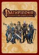 Pathfinder Adventure Card Game Errata Set 1 (RoR, 1st printing)