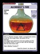 Alchemist's Fire - Custom Card