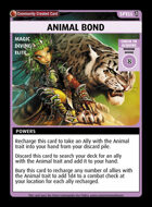Animal Bond - Custom Card