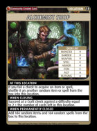 Alchemist Shop - Custom Card