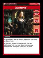Alchemist - Custom Card