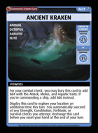 Ancient Kraken - Custom Card