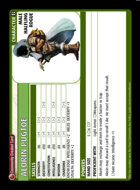 Alorin Pugtoe - Custom Card