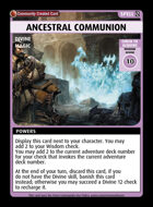 Ancestral Communion - Custom Card