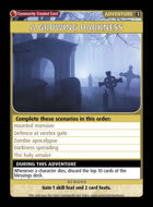 A Growing Darkness - Custom Card