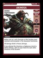 Akinosa - Custom Card