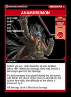 Anamurumon - Custom Card