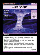 Aura  Vortex - Custom Card