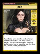 Bait - Custom Card