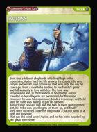 Auriss - Custom Card