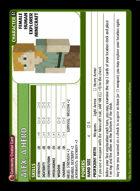 Alex, A Hero - Custom Card