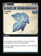 Pathfinder Adventure Card Guild Season of the Righteous Scales of Remembrance