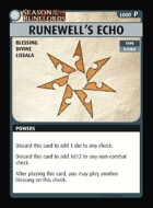 Pathfinder Adventure Card Guild Season of the Runelords Runewell's Echo