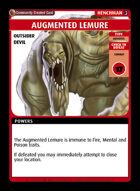 Augmented Lemure - Custom Card