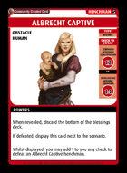 Albrecht Captive - Custom Card