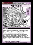 Air Cushion - Custom Card