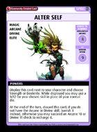 Alter Self - Custom Card