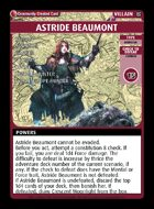 Astride Beaumont - Custom Card